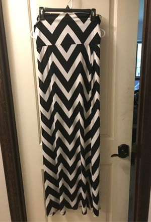 Black white skirt or dress for Sale in Woodinville, WA