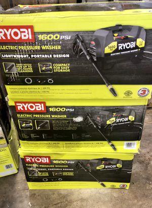 RYOBI 1,600 PSI 1.2 GPM Electric Pressure Washer for Sale in Arlington, TX