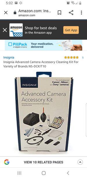 Insignia Advanced Camera Accessory Kit for Sale in Plano, TX