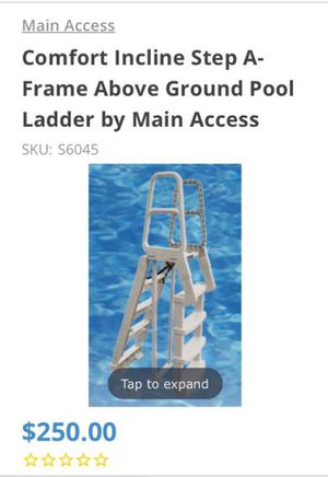 Pool ladder for Sale in Portsmouth, VA
