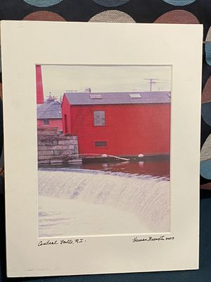 Signed Print of Central Falls, RI for Sale in Providence, RI