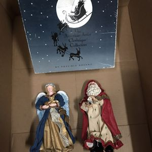 Clothtique Santa And Angel -kept Boxed for Sale in Seattle, WA