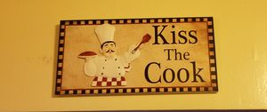 Kitchen wall plaque for Sale in Temple Hills, MD