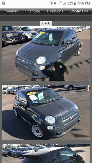 Fiat 500 for Sale in Phoenix, AZ