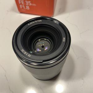 Sony FE 35mm F1.8 for Sale in Seattle, WA