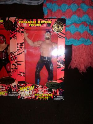 Vintage wcw figures exclusive KB toys 1998 for Sale in Middletown, OH