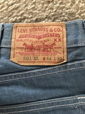 501 Levi Strauss light blue color jeans for Sale in Aurora, CO