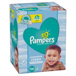 Pampers baby wipes 720 count for Sale in Miramar, FL