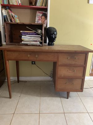 Mid Century Danish wood Desk for Sale in Decatur, GA