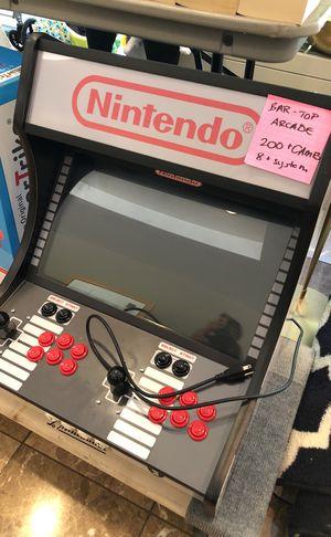 Bar top arcade-200 games 8 system for Sale in Arlington, VA
