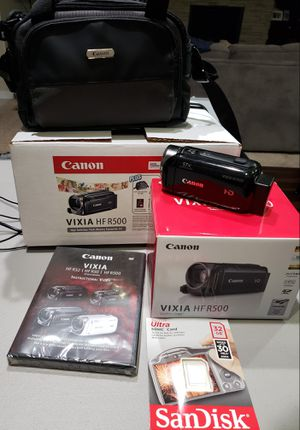 Canon Vixia HF R500 Camcorder for Sale in Vancouver, WA