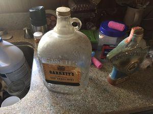 Antique glass wine bottle. for Sale in Greenville, SC