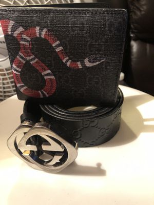 Gucci belt and wallet for Sale in Oakland, CA
