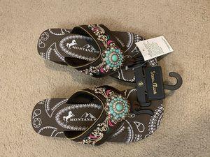 Montana west flip flops for Sale in Houston, TX
