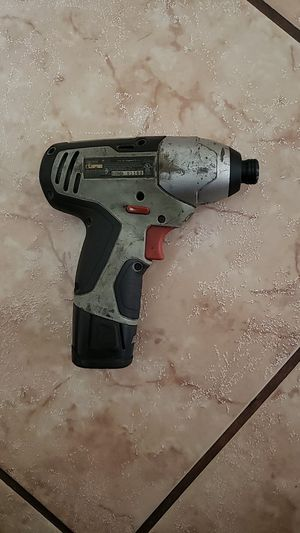 Craftsman 12V Impact Drill for Sale in Dallas, TX