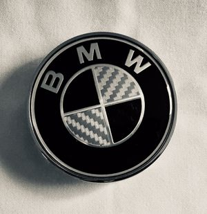 BMW Black & White wheel rim center cap for Sale in Orlando, FL