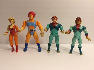 Thundercats 4 Action Figure Lot - LJN Vintage Figure Toys for Sale in Naperville, IL