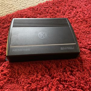Car Audio Amplifier Great Condition for Sale in Marksville, LA