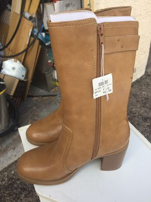 Faux Leather Boots for Sale in Tucson, AZ