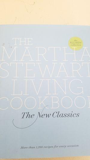 The Martha Stewart Living cookbook for Sale in Roseville, CA