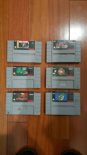 Super Nintendo NES Games for Sale in Quincy, MA