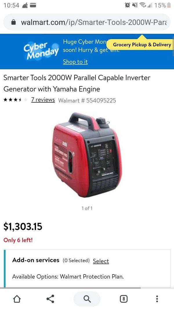 Generator (brand new)