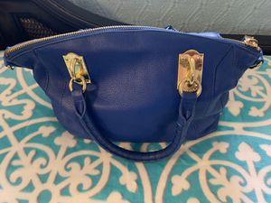 Blue leather bag for Sale in Plantation, FL