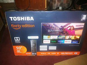 "Toshiba 50"" 4k fire tv for Sale in Tijuana, MX"