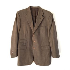 Ralph Lauren Purple Label Men's Blazer Jacket 3 Button Brown Wool ~ M for Sale in Calabasas, CA