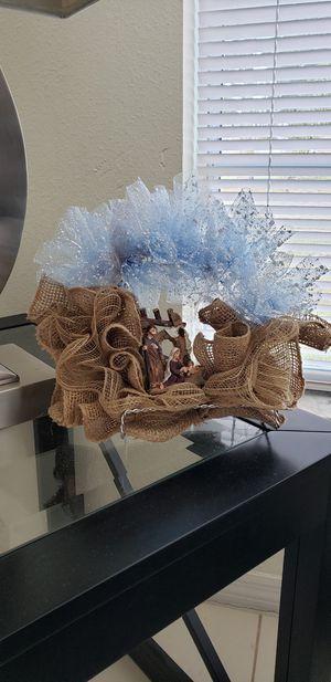 Nativity wreath for Sale in Orlando, FL