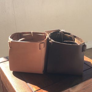 Leather Plant Pot Holder for Sale in San Diego, CA
