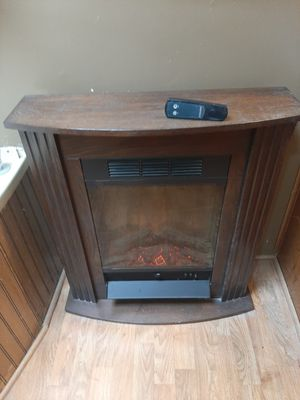 Fireplace/heater with remote. for Sale in Wayland, MI