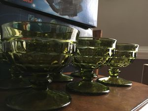 Antique vintage Green depression glass dessert cup for Sale in Cameron, NC