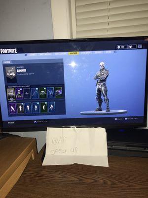 Fortnite account with skull trooper for Sale in Alexandria, VA