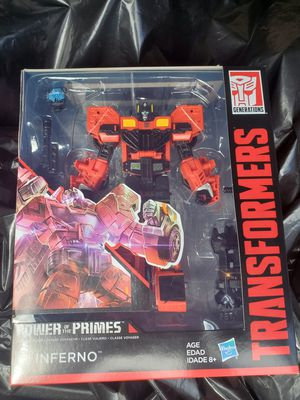 Transformers powers of the prime inferno for Sale in Long Beach, CA