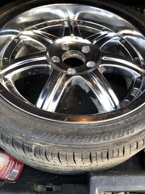 "Chrome Rims size ""22 for Sale in Cleveland, OH"