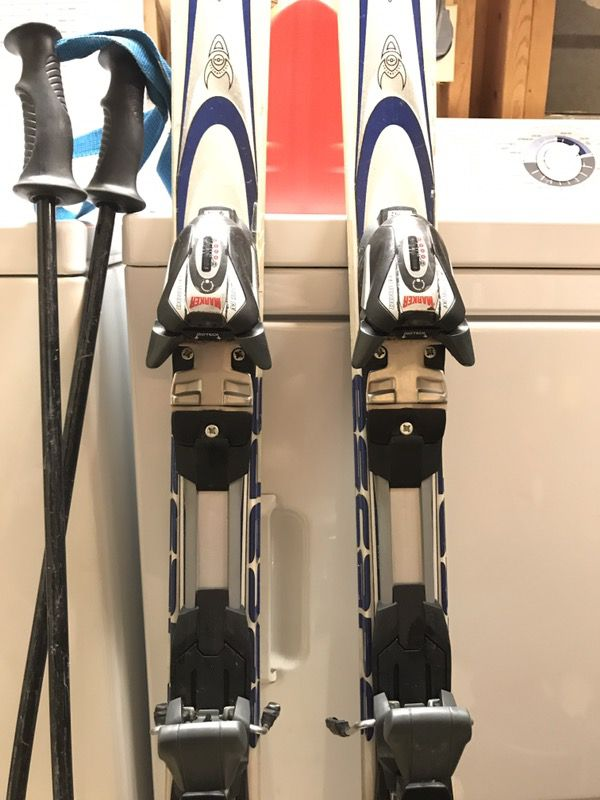 K2 Escape Skis, boots, and poles