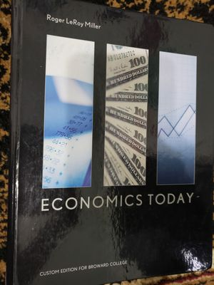 Economics Today - textbook for Sale in Pembroke Pines, FL