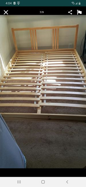 IKEA full size bed frame for Sale in Hayward, CA