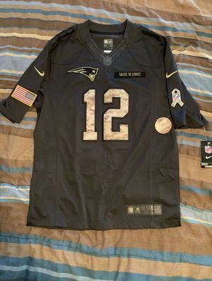 Patriots Brady Jersey Salute To Service for Sale in Aloma, FL