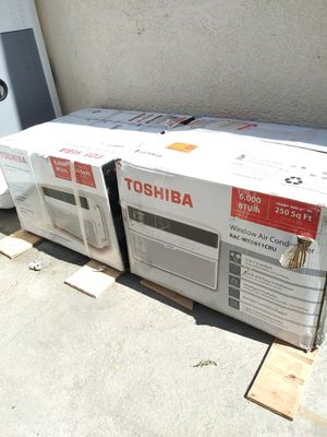 BRAND NEW AC WINDOW 6.000 BTU COMES WITH REMOTE CONTROL ENERGY SAVER IF SOMEBODY INTERESTED TEXT ME ANY TIME PLEASE. for Sale in Los Angeles, CA
