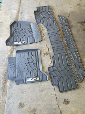 Suburban/Tahoe OEM floor mats 2015-2019 for Sale in San Diego, CA