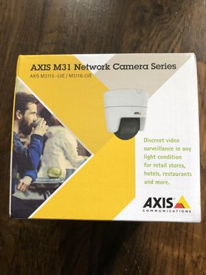 Axis m3115 network camera for Sale in Queens, NY