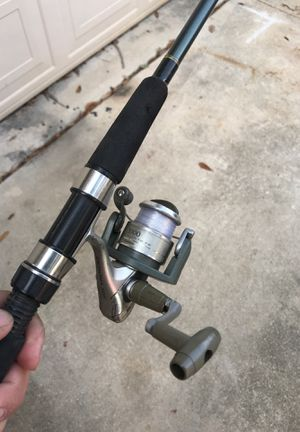 Shimano fishing reel and rod combo for Sale in San Antonio, TX