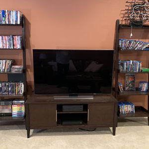 Entertainment Center And Bookshelves for Sale in Rolling Meadows, IL