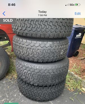 Hummer h2 wheels and tires for Sale in Miami, FL