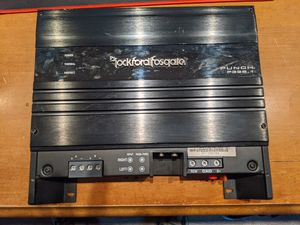 Rockford Fosgate Amp 325 Watt for Sale in Littleton, CO