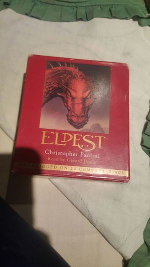 Eldest Christopher Paolini Audio books for Sale in Modesto, CA