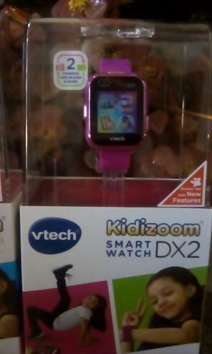 Purple kidizoom smart watch Dx2(( HAVE 2 )) $50 EACH for Sale in Richmond, TX