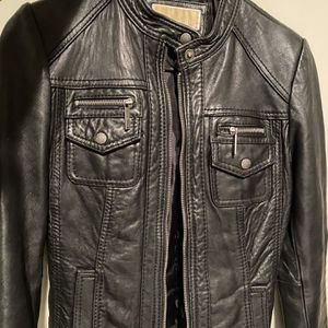 Michael Kors Leather Jacket for Sale in Los Angeles, CA